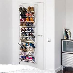 Range Chaussures De Porte : achat range chaussures de porte pour 36 paires pas cher ~ Melissatoandfro.com Idées de Décoration