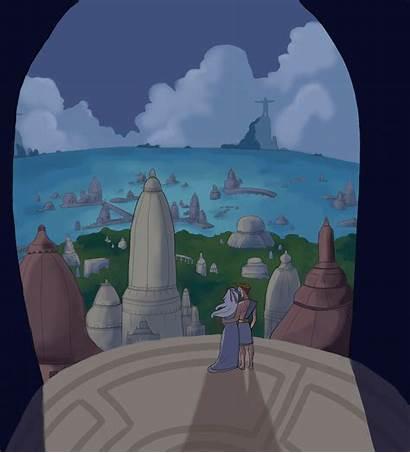 Atlantis Lost Empire Deviantart Characters Disney Takes