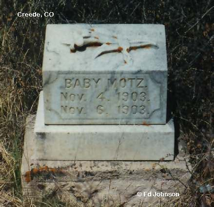 creede cemetery mineral county