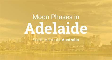 moon phases  lunar calendar  adelaide south