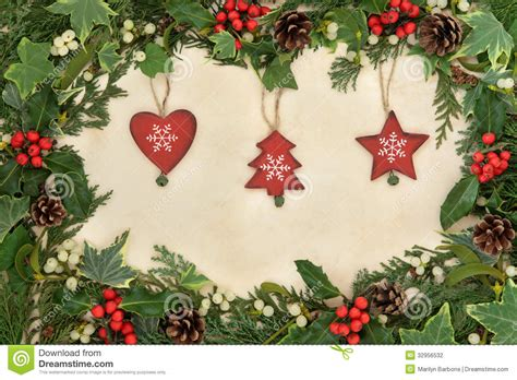christmas border stock photo image  traditional