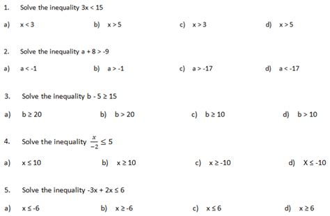 Ai 02 Solving Multistep Inequalities Quiz  Math With Mr Wood