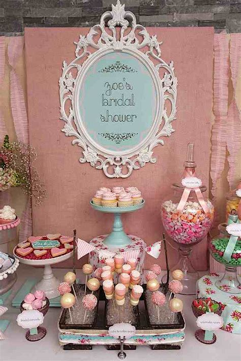 shabby chic wedding shower decor kara s party ideas shabby chic girl spring floral bridal shower party planning ideas