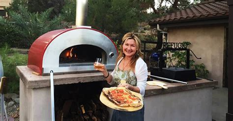 Wood Fired Pizza Oven Cart   Forno Bravo   Pizza Ovens