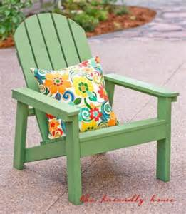 another simple adirondack chair build your own with free plans at white outdoor