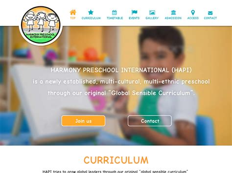 harmony preschool international multi cultural 185 | screenshot