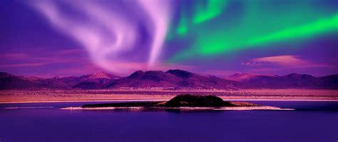 aurora borealis canada full hd  wallpaper
