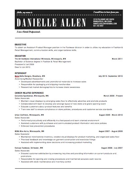 Header For Resume by Resume Headers Sles