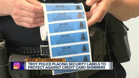 stickers aim deter thieves skimming credit card info