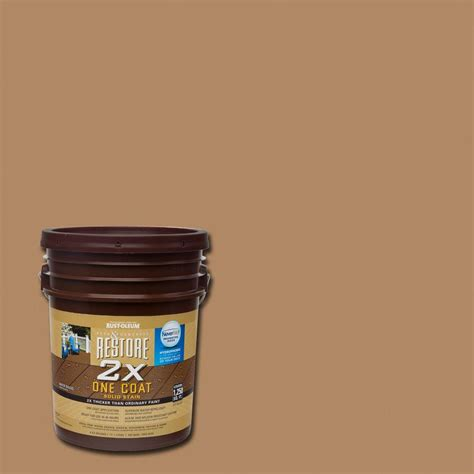 Wolman Raincoat Deck Stain by Wolman 5 Gal F P Cedar Exterior Wood Stain Finish And
