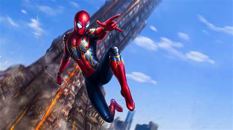 Iron Spider Background iron spider wallpapers wallpaper cave