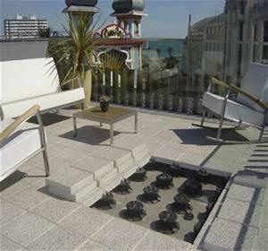 Plot Plastique Terrasse : terrasse sur plots prix et pose habitatpresto ~ Edinachiropracticcenter.com Idées de Décoration