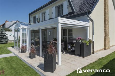 veranda combin 233 avec pergola
