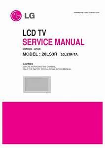 Lg 20ls3r Chassis Lp69b  Service Manual  Repair Schematics