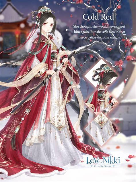 cold red love nikki dress  queen wiki fandom