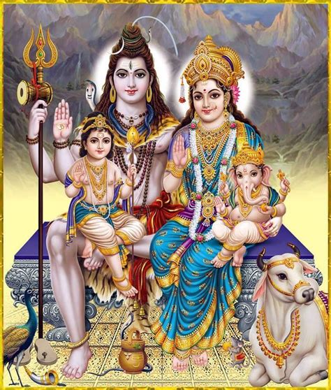 shiva familia primero espiritual despu 233 s ser inspiration