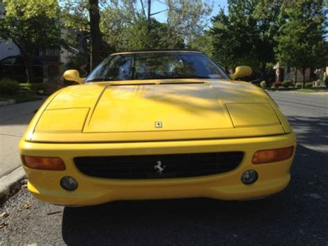 Sin embargo, en 1997, el berlinetta fue el primer coche de calle en ser equipado con el innovador sistema de caja de cambios f1. Sell used 1997 Ferrari 355 Spyder in Staten Island, New York, United States