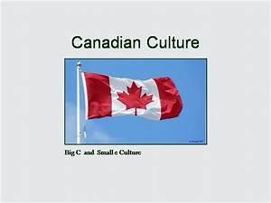 Canadian Culture  authorSTREAM
