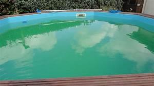 Eau De Piscine Trouble Apres Chlore Choc : eau verte quoi faire piscines filtration ~ Dailycaller-alerts.com Idées de Décoration