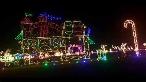 benson christmas lights meadow lights benson nc