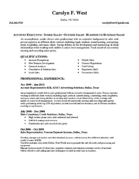 Free Resume Format For Accounts Executive by Resume Exle 74 Account Executive Resume Sle Account