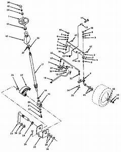 Steering Assembly Diagram  U0026 Parts List For Model 917255440