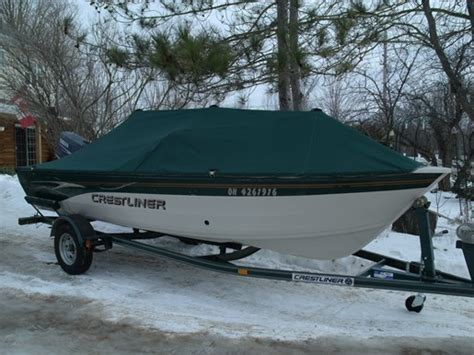 Crestliner Boats Ontario Dealers by Crestliner 16 Angler Sc 2002 Used Boat For Sale In