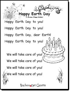 earth songs for preschoolers gazette 187 earth day lessons activities resources 440
