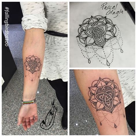 mandala triskele tattoo triscele triskelle britannien
