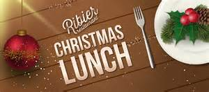 ribier restaurant christmas lunch menu