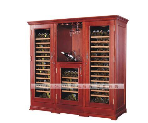 Wine Refrigerator Cabinets Wood by Oak Wooden Wine Cooler Cabinet 110v 220v 50 60hz Sales