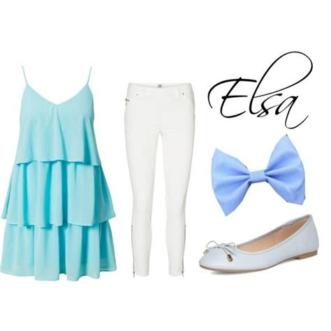 Best 25+ Elsa outfit ideas on Pinterest   Disney character outfits Disney fashion casual and ...