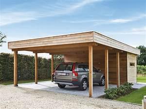 Carport Und Garage : carport of garage in hout met berging of fietsstalling fabrikant carports garages ~ Indierocktalk.com Haus und Dekorationen