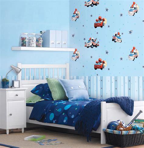wallpaper dinding kamar anak motif cars nirwana deco