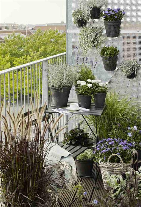 Enjoliver L'extérieur  28 Idées De Déco Balcon Avec Plantes