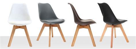 chaises modernes pas cher chaise design pour salle à manger et pas cher miliboo