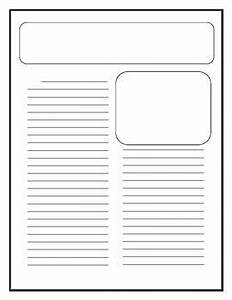 25 best ideas about newspaper article template on With newspaper editorial template