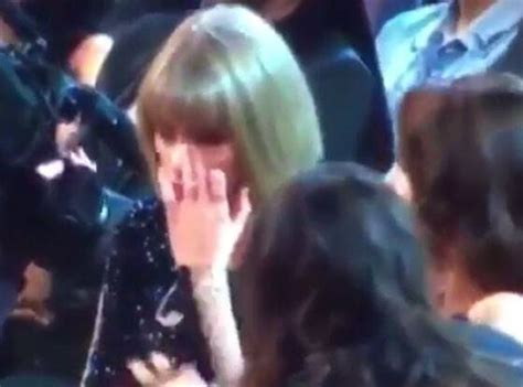 Was Taylor Swift Crying at the Grammys? - E! Online