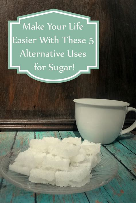 alternative   sugar cool life hacks swanky