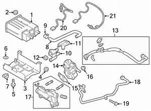 Mazda 3 Vapor Canister Purge Solenoid  Emission  Control