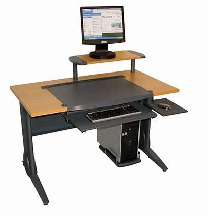 Computer Desks Desk Wood Office Modern Metal