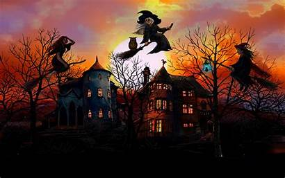 Witch Halloween Wallpapers Witches Happy History Christmas