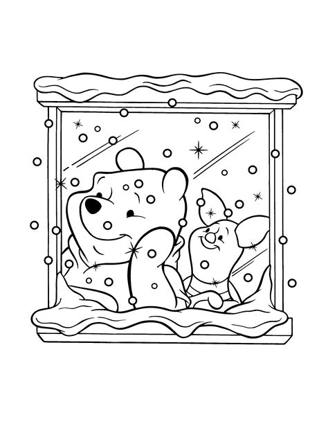 90 Coloring Pages For Winnie The Pooh Winnie The