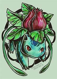 Ivysaur by RetkiKosmos on DeviantArt