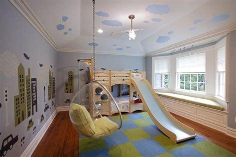 Kinderzimmer Mädchen Mit Rutsche by Sch 246 Nes Kinderzimmer Bett Mit Rutsche H 228 Ngesessel Acryl