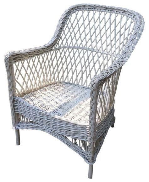 pre owned antique bar harbor wicker chair style