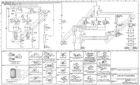 1979 Ford F 150 4x4 Wiring Diagram by 1973 1979 Ford Truck Wiring Diagrams Schematics