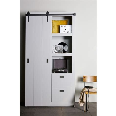 armoire porte coulissante armoire design bois porte coulissante barn by drawer