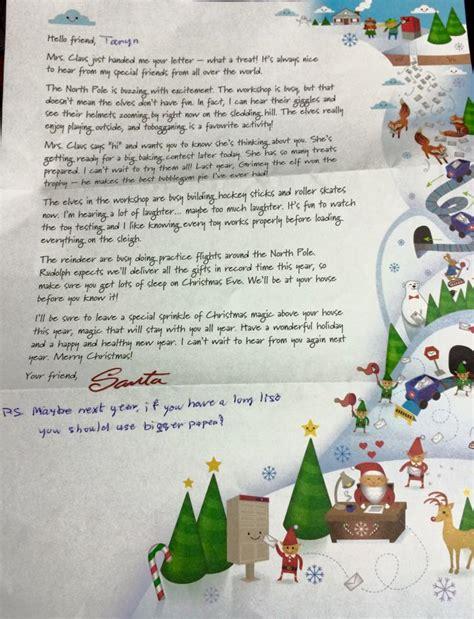blackburnnewscom letter  santa turns sour