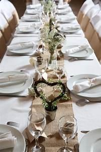 Centre De Table Champetre : 12 inspirations pour un mariage champ tre ~ Melissatoandfro.com Idées de Décoration